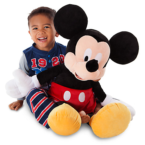 Mickey Mouse Plush - Large - 25''
