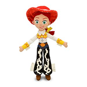 Jessie Plush Doll - Toy Story - Medium - 16''