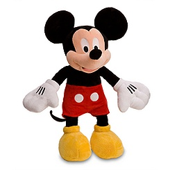 Mickey Mouse Plush - Medium - 18''
