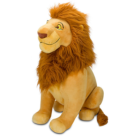 k nig der l wen mufasa stofftier xxl jumbo pl sch figur lion king disney store ebay. Black Bedroom Furniture Sets. Home Design Ideas