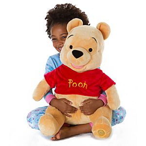 Large Winnie the Pooh Plush Toy -- 18 H