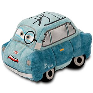 Cars 2 Professor Z Plush -- 7