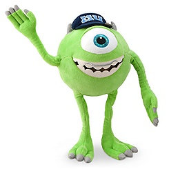 Mike Wazowski Plush - Monsters University - 12''