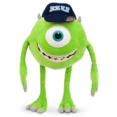 Mike Wazowski Plush - Monsters University - 21''