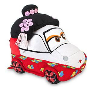 Cars 2 Okuni Kabuki Dancer Plush Toy -- 7
