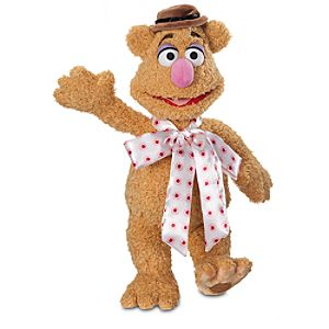 Fozzie Bear Plush - The Muppets - Medium - 15''
