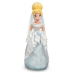 Cinderella Plush Wedding Doll - 21''