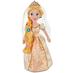 Rapunzel Plush Bride Doll - 20''