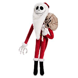 Santa Jack Skellington Plush Toy -- 22