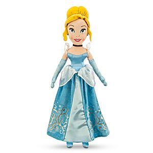 Cinderella Plush Doll - Medium - 21''