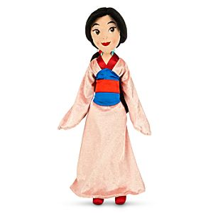Mulan Plush Doll - Medium