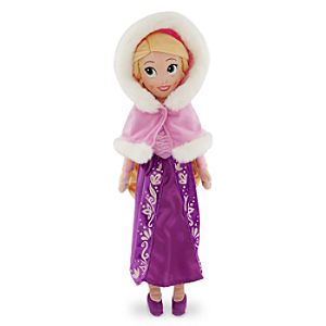 Rapunzel Plush Doll - Medium - 21'' - Holiday