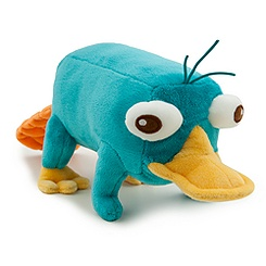 Perry Mini Bean Bag Plush - 10''