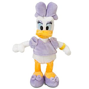 Daisy Duck Plush - Mini Bean Bag - 9''