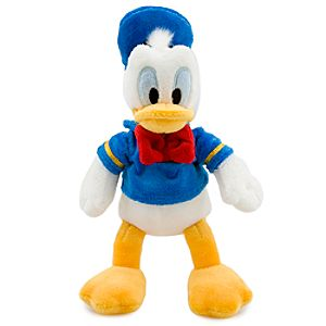 Donald Duck Plush - Mini Bean Bag - 9 1/2''