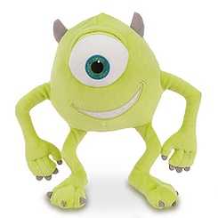 Mike Wazowski Plush - Monsters, Inc. - 8''