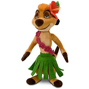 The Lion King Mini Bean Bag Plush Toy -- Hula Timon