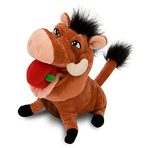 The Lion King Mini Bean Bag Plush Toy -- Hula Pumbaa