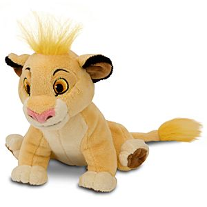 The Lion King Mini Bean Bag Plush Toy -- Simba