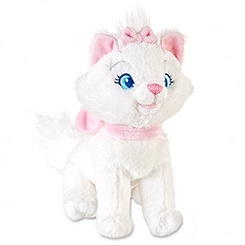 Marie Plush - The Aristocats - Mini Bean Bag - 7''