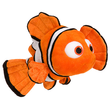 Nemo Plush - Finding Nemo - Mini Bean Bag - 9''