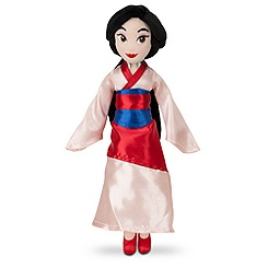 Mulan Mini Bean Bag Plush Doll - 12''