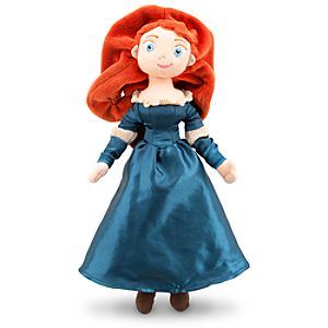Merida Plush Doll - Brave - Mini Bean Bag - 12''