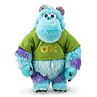 Sulley Mini Bean Bag Plush - Monsters University - 8 1/2''
