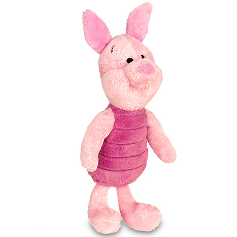 Piglet Plush - Winnie the Pooh - Mini Bean Bag - 7''
