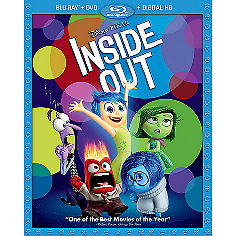 Disney•Pixar Inside Out Blu-ray Combo Pack | Animation | Disney Store