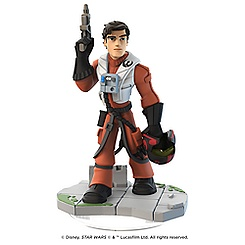 Poe Dameron Figure - Disney Infinity: Star Wars: The Force Awakens (3.0 Edition)