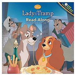 Exclusive Lady and the Tramp Read-Along Storybook and CD