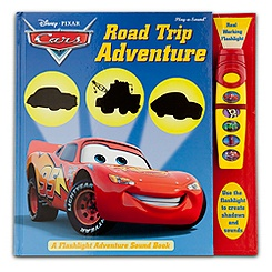 Cars ''Road Trip Adventure'' Book with Sound Flashlight