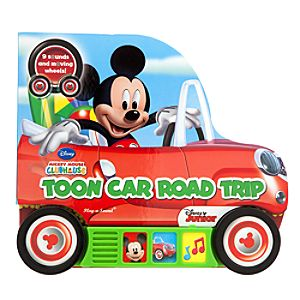 Mickey Mouse Toon Car Road Trip Book