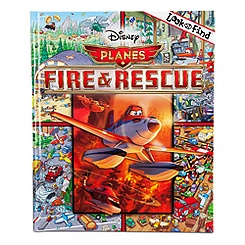 Planes: Fire & Rescue Look and Find Book