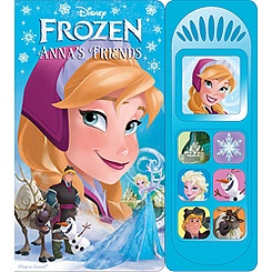 Frozen Anna's Friends Play-a-Sound Book
