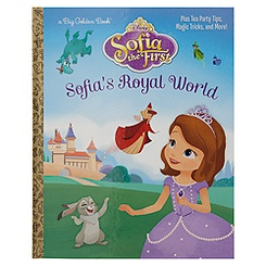 Sofia the First: Sofia's Royal World - Big Golden Book