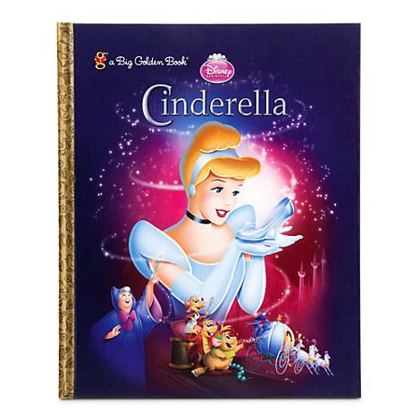 Golden Cinderella Cinderella Big Golden Book