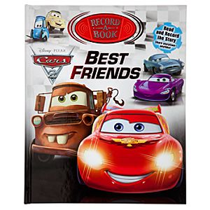 Cars 2 Best Friends Record-A-Book