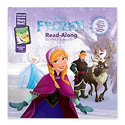 Frozen Read-Along Book with CD and eBook