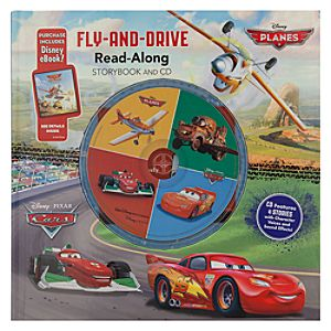 Cars & Planes Fly-and Drive Read-Along Storybook and CD