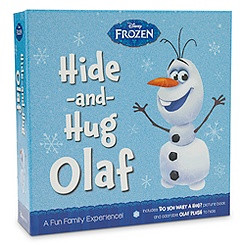 Olaf Hide and Hug Plush and Book Set - Frozen