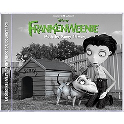 Frankenweenie Soundtrack CD