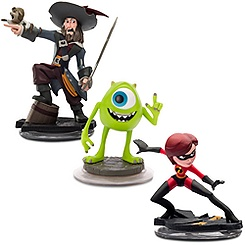 Disney Infinity Sidekicks - Mike, Mrs. Incredible and Capt. Barbossa - Pre-Order