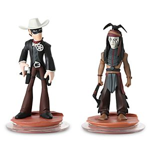 Disney Infinity Lone Ranger Play Set - Lone Ranger and Tonto