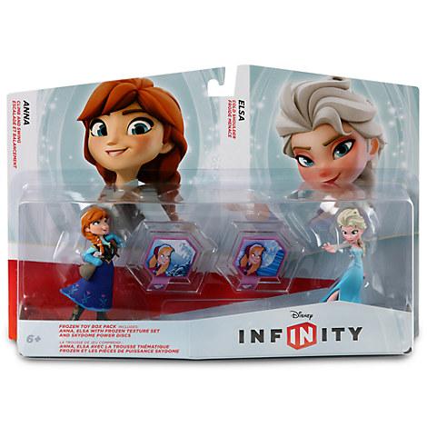 Disney Infinity Frozen Toy Box Pack Anna Elsa Texture Set