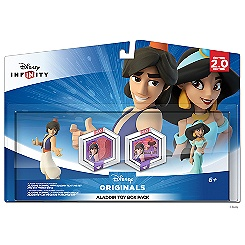 Disney Infinity: Aladdin Toy Box Pack - Aladdin and Jasmine (2.0 edition)