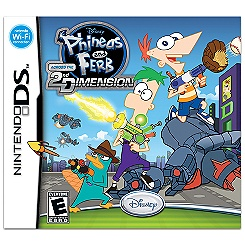 Phineas and Ferb: Across the Second Dimension for Nintendo DS