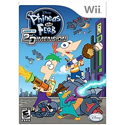 Phineas and Ferb: Across the Second Dimension for Nintendo Wii