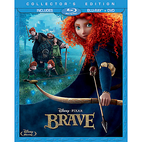 Brave Pre-Order (Blu-Ray/DVD Combo) + Lithograph Set + $20 off $40 Future Online Purchase Coupon $24.99